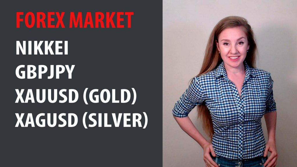 Forex Market 01.06.20 - 05.06.20 Nikkei, GBPJPY, XAUUSD, XAGUSD
