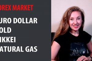 Forex Market: Euro Dollar, Gold, Nikkei, Natural Gas